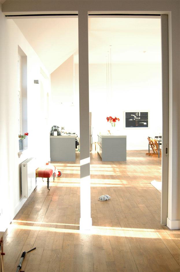 Doorgang-woonkamer