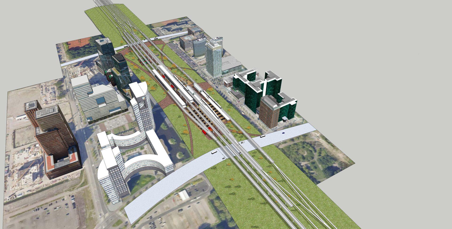 W201020 ZuidAs Amsterdam Studie 21-12-10-2